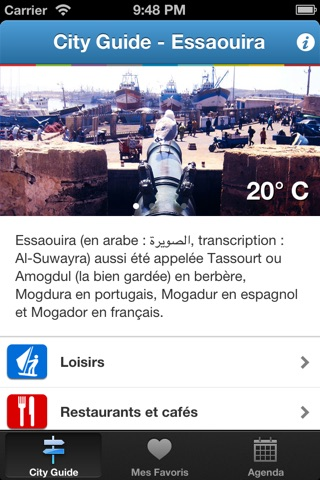 City Guide Maroc Essaouira screenshot 2