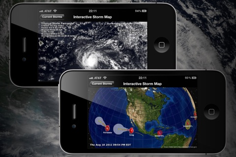NOAA Hurricane Center screenshot 2