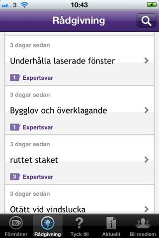 Villaägarnas Riksförbund screenshot 2
