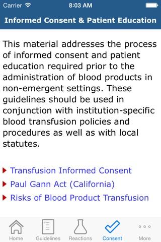 BloodSmart screenshot 3