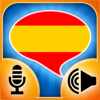 iSpeak Spanish:  Interactive conversation course - learn to speak with vocabulary audio lessons, intensive grammar exercises and test quizzes