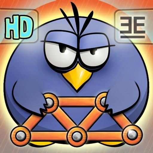胖鸟造桥HD:Fat Birds Build a Bridge! HD【物理益智】