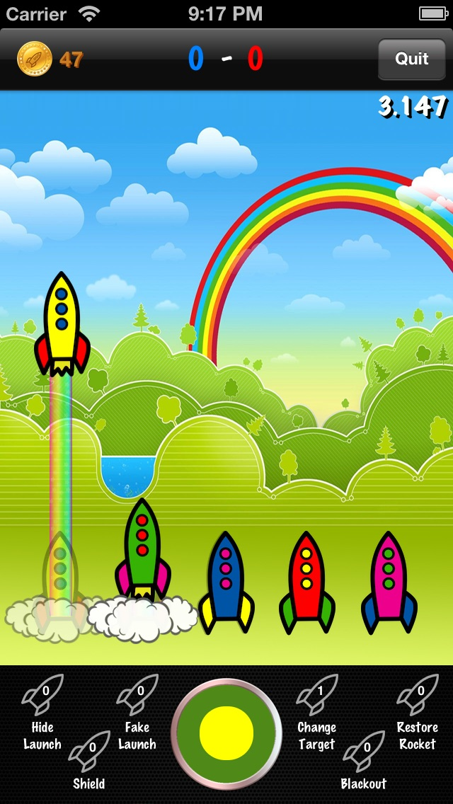 Rainbow Rockets! Screenshot 2