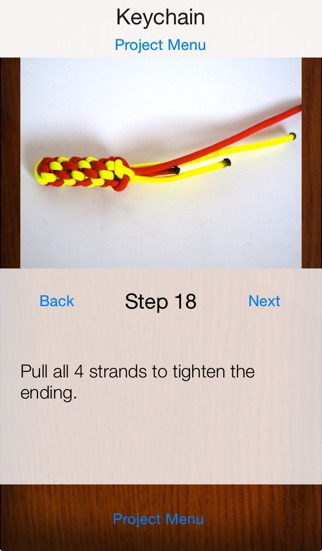 Paracord узлов шаг за шагомСкриншоты 4
