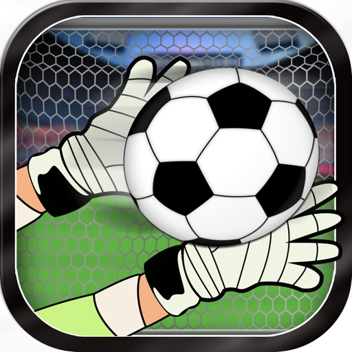 Soccer Kick Flick 2014 - Sports Ball Super Save Arcade- Pro iOS App