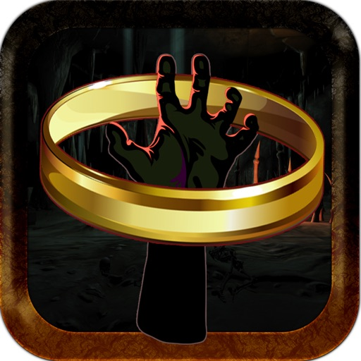 Scary Monster Creature Hand Ring Toss Throwing Challenge iOS App