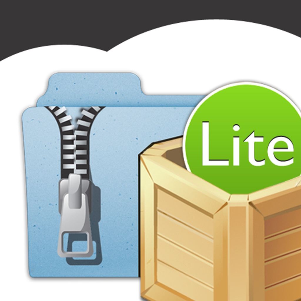 iUnarchive Lite – Archive and File Manager with support for Dropbox, Box, Skydrive, SugarSync, WebDAV en FTP
