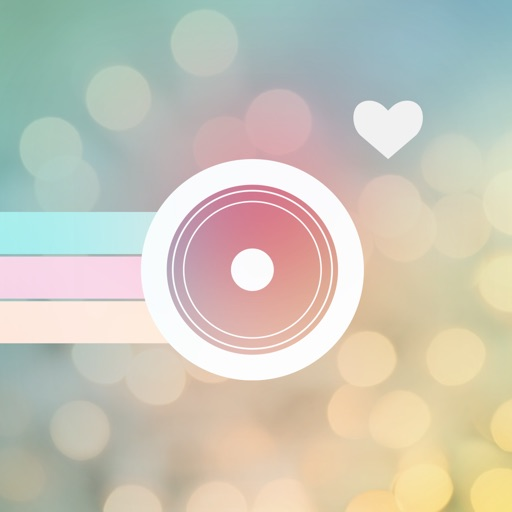 Cutify Me – Kawaii Photo Decoration with Dress Up Stickers Cute Face Masks Lovely Bokeh Light Effects and Vintage Filters