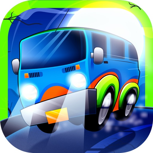 Ghost Wagon Race Lite Icon