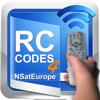 Códigos de control remoto para NSatEurope