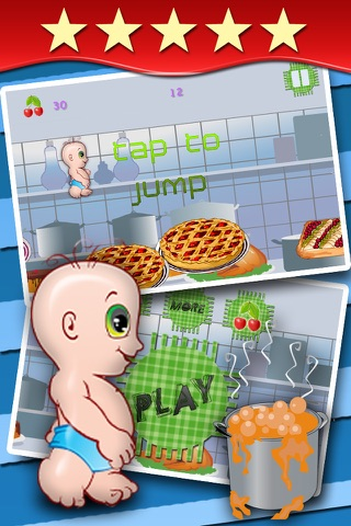 All Babies Dance on Pies - cute baby games for girls and boys free screenshot 2