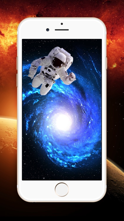 Galaxy Wallpaper Lock Screen Themes Cool Space Backgrounds For IPhone Or IPad