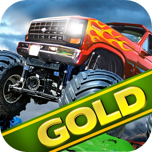Monster Truck 3D Race Driving Gold: Offroad 4x4 Rally for Extreme AWD Vehicles iOS App