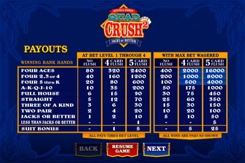 Quad Crush Squared Double Bonus screenshot 4