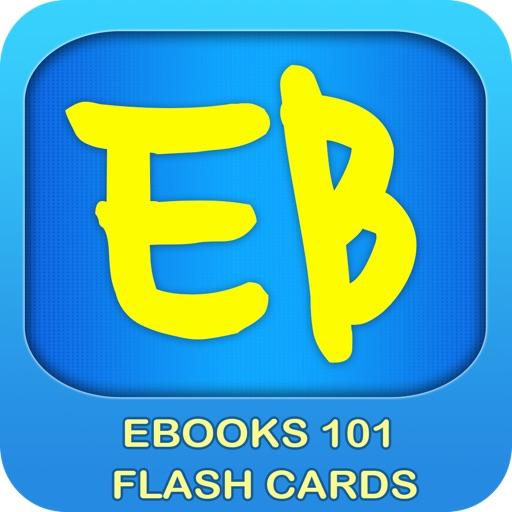 E Books - 101 Flashcards iOS App