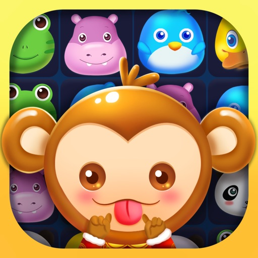 Pet Splash - Cute Animals Match 3 Game iOS App