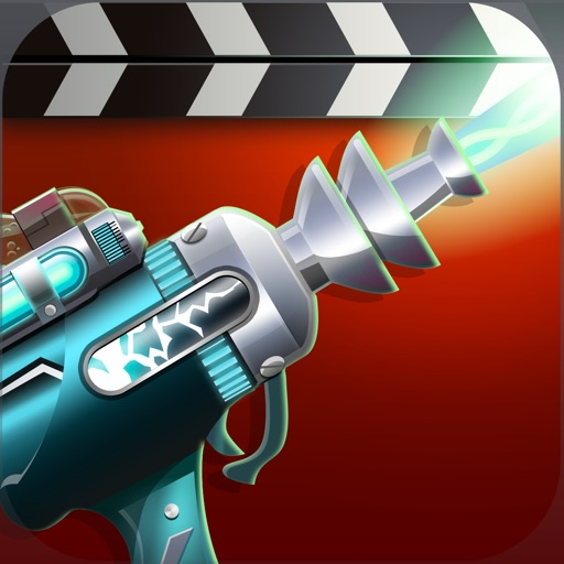 Tap and Zap - Ray Gun FX Movie Maker