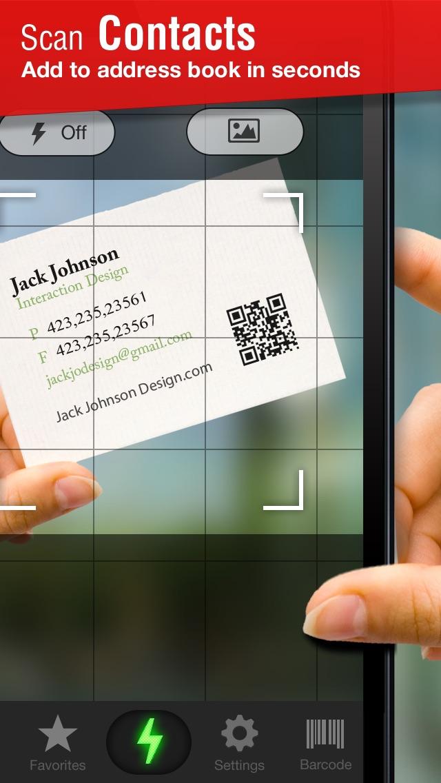 Quick Scan - QR Code Reader Screenshot 2