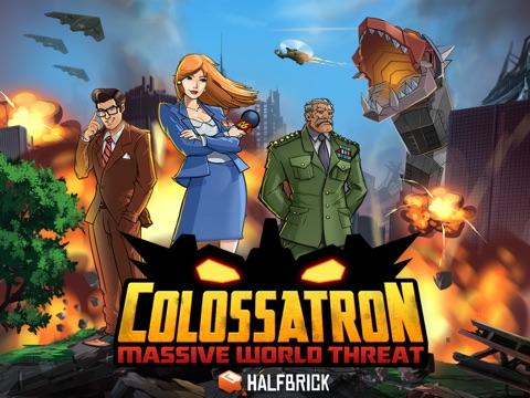 Screenshot #1 for Colossatron: Massive World Threat