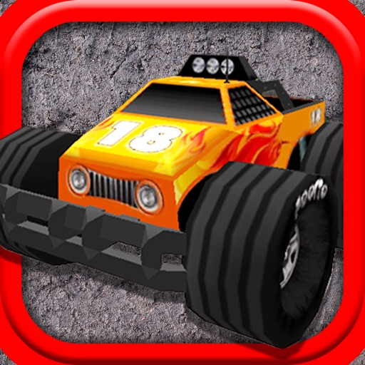 A Monster Truck Game 3D: 4x4 Off-Road Racing - FREE Edition iOS App