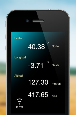Don't Get Lost - Find Your GPS Coordinates : Longitude, Latitude, Altitude and Map Location screenshot 1