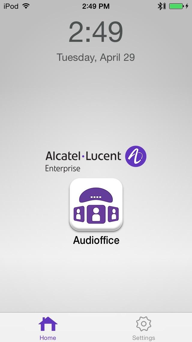 AudiofficeCapture d'écran de 1