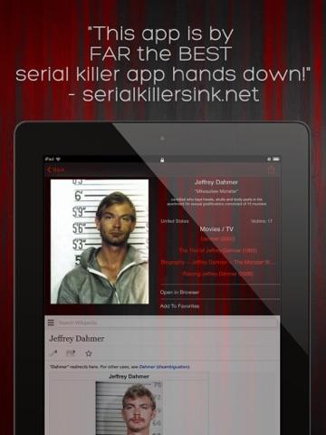 serial killer murder library on the app store. Black Bedroom Furniture Sets. Home Design Ideas