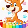 Animals Cartoon Art Pad : Learn To Paint And Draw Animals Coloring Pages Printable For Kids Free 2