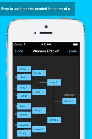 Bracket Maker screenshot 1