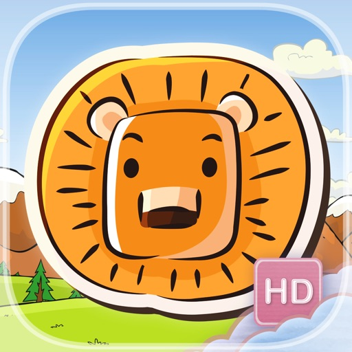 Zoo Swipe - HD - FREE - Line Up Three Animals In A Row Adventure Park Puzzle Game iOS App