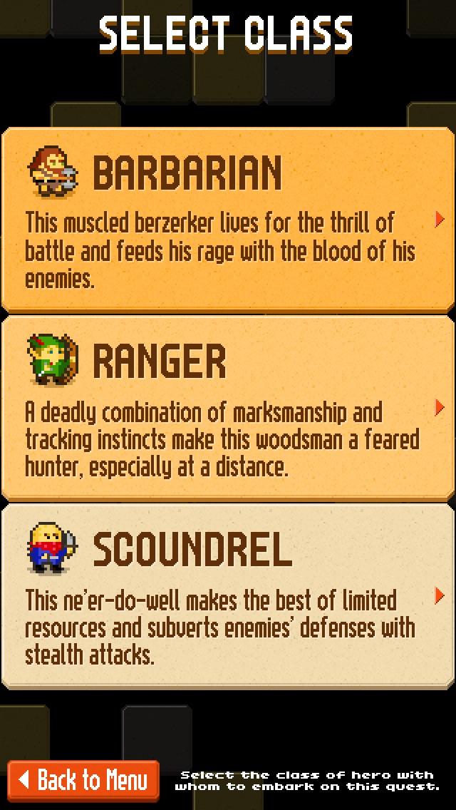 Crossword Dungeon screenshot1