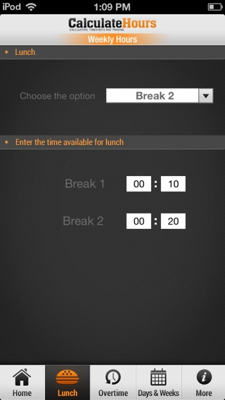 Time Card Calculator - Timeclock On The App Store