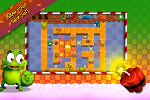 Candy Maze Free - The Sweet Puzzle Adventure for All Ages screenshot 4