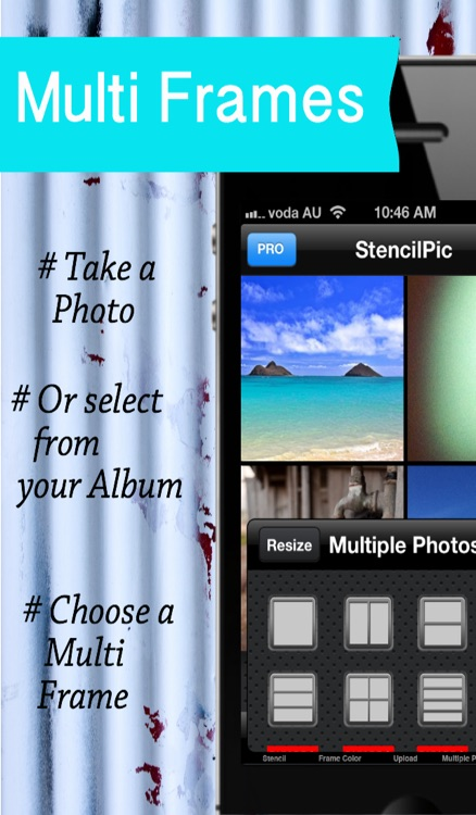 Stencil Pic – Unique Photo Framing App, Free editing & Picture Frame ...