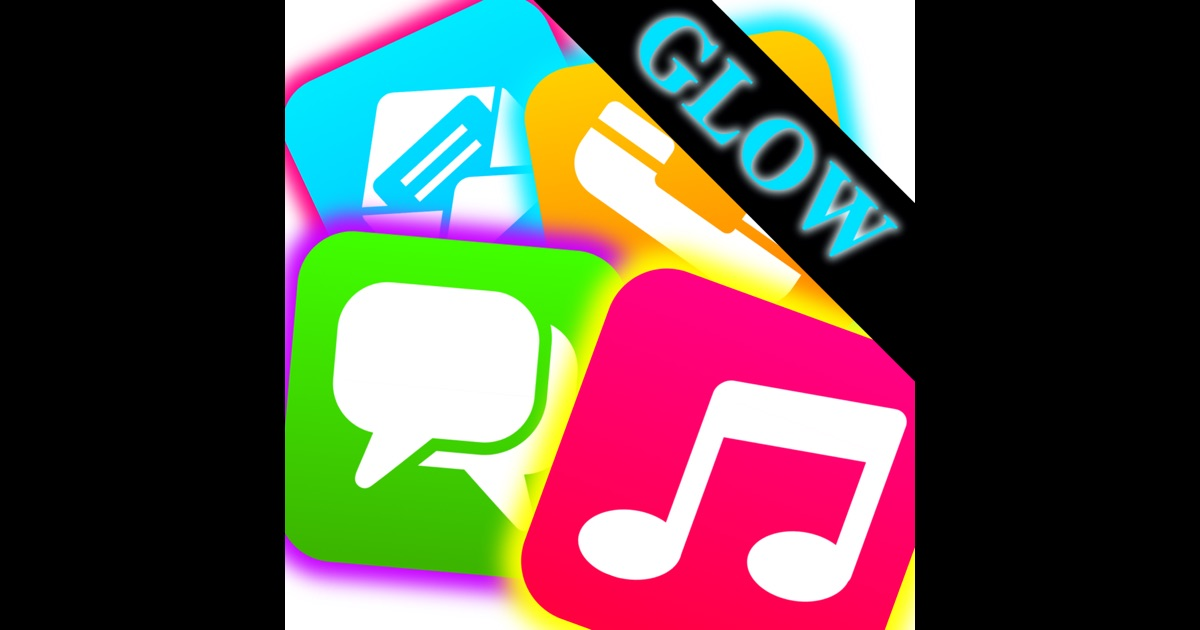 Glowing App Icons Home Screen Maker App Store