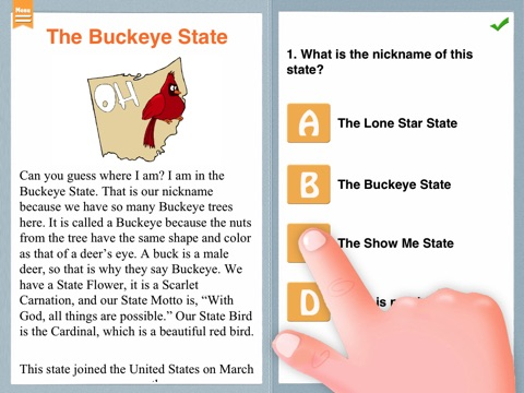 Grade 2 Reading Comprehension screenshot 3
