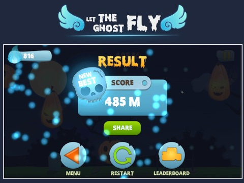 Screenshot #3 for Let the ghost fly