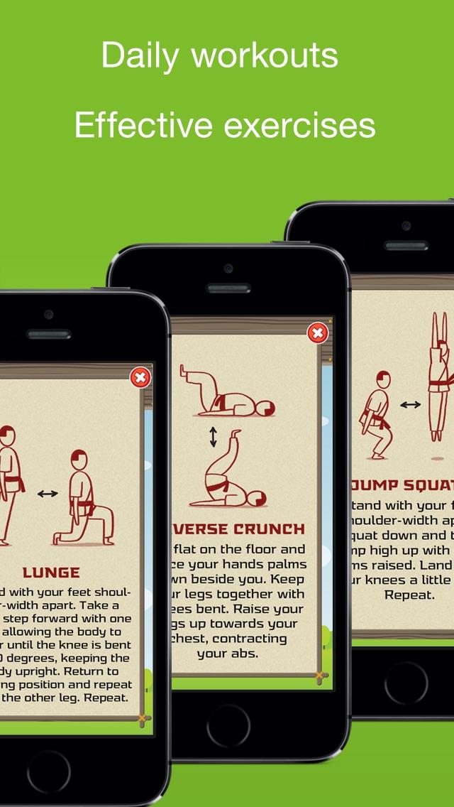 【卡通健身】每日4分钟锻炼