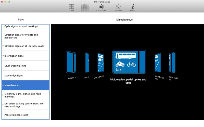 uk traffic signs lite mac app store. Black Bedroom Furniture Sets. Home Design Ideas