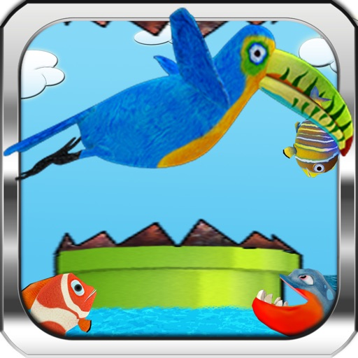 Happy Toucan Infinite Runner Pro Hunter – Real Fishing and Flying Flappy Adventure of a Tiny Bird, Clumsy Bird Through the Pipes For Kids iOS App