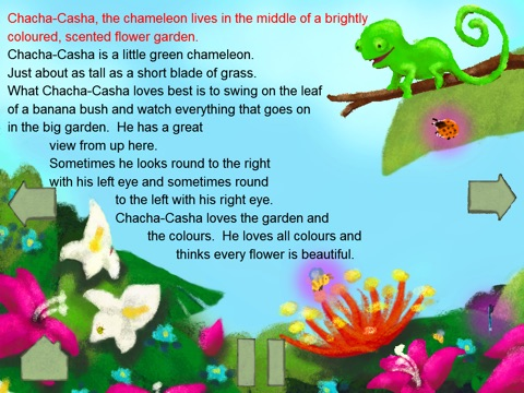 Chacha-Casha, the little Chameleon (international) screenshot 1