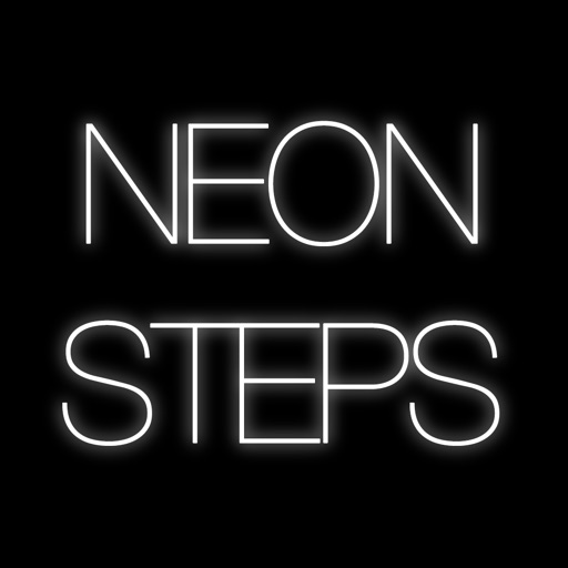 Neon Steps Pro - Don't Step On The White Stars! iOS App