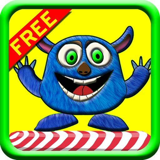Candy Jump Free! Smash The Enemies While Jumping To Collect The Candy! iOS App