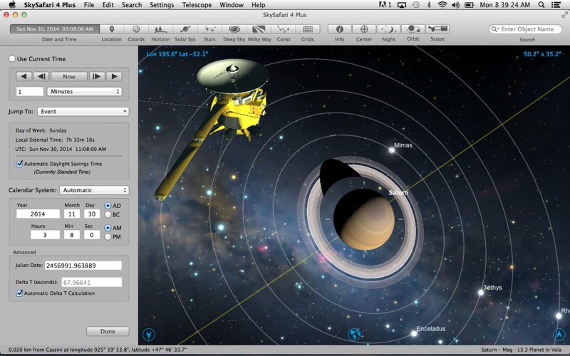 Screenshot #3 pour SkySafari 4 Plus