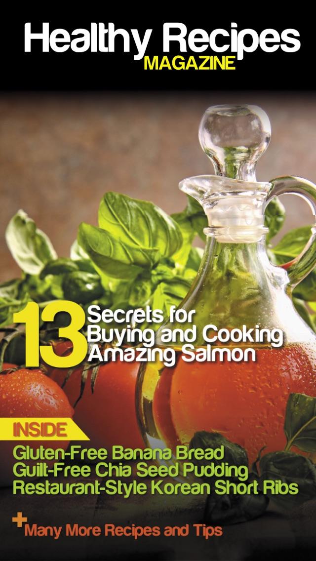 Healthy Recipes Magazine review screenshots