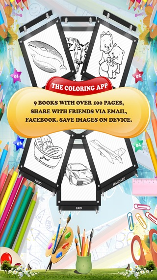 The Coloring App