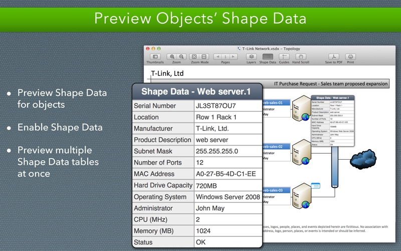 screenshot 4 screenshot 5 vsd viewer for visio drawings - Open Visio Files Without Visio
