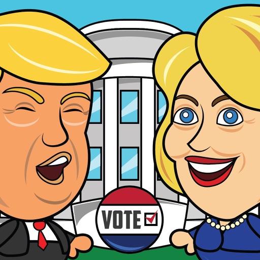 Hillary Jump Go - Hillary vs Trump