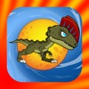 Dinosaur Run And Jump - On The Candy Circle Ball Games For Kids