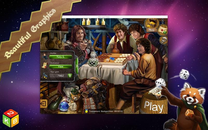 Backgammon Masters Screenshots